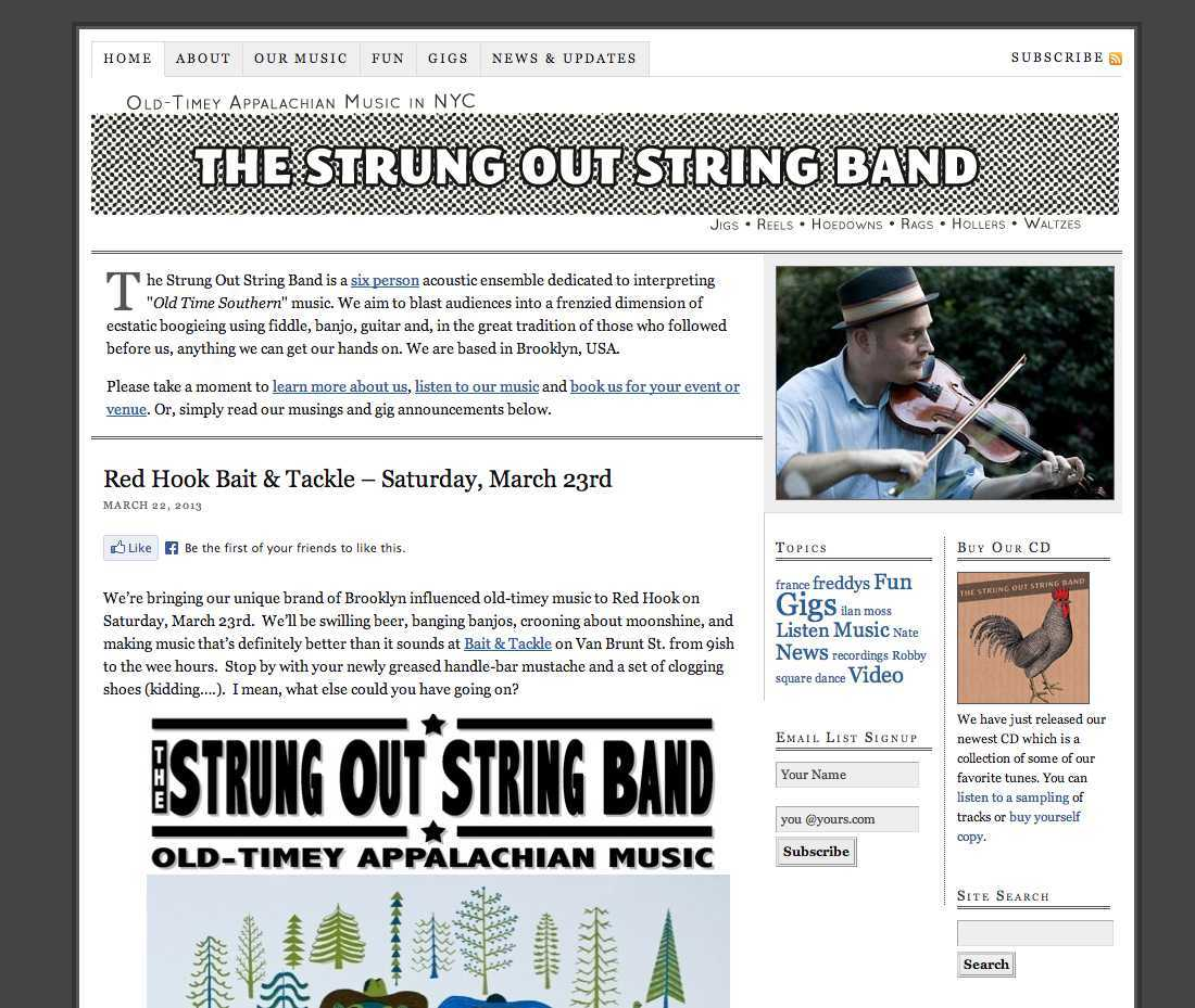 The Strung Out String Band